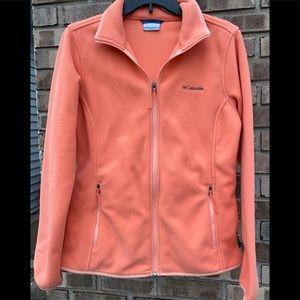 Columbia Polartec Fleece Jacket sz Medium ~Exc